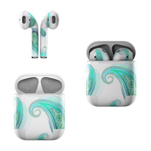 Azure Apple AirPods Skin