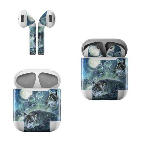Bark At The Moon Apple AirPods Skin