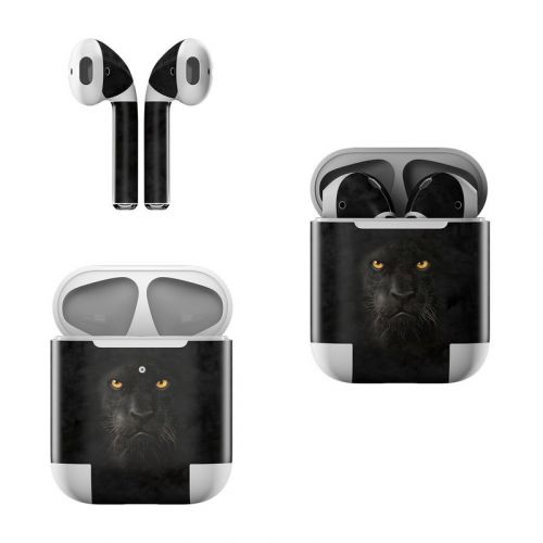 Black Panther Apple AirPods Skin