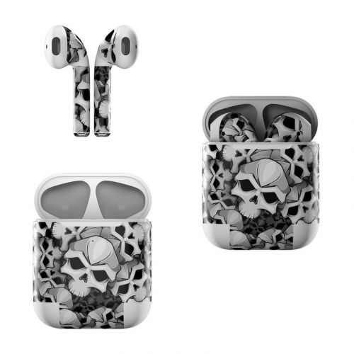 Bones Apple AirPods Skin