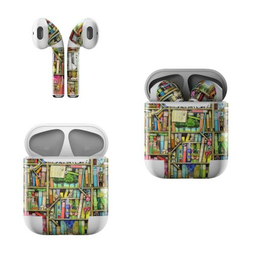 Bookshelf Apple AirPods Skin