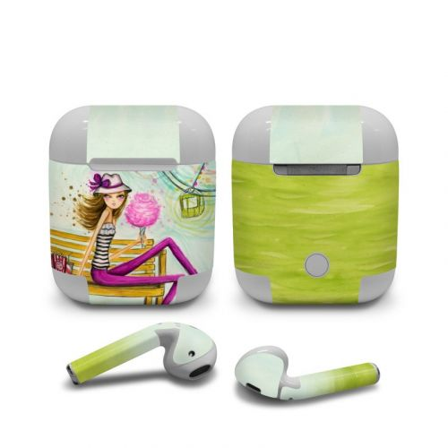 Carnival Cotton Candy Apple AirPods Skin