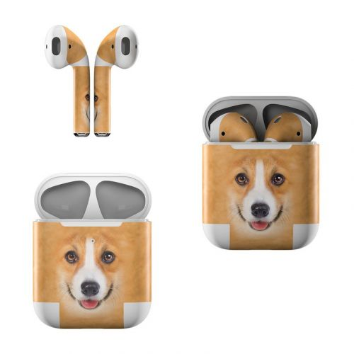 Corgi Apple AirPods Skin