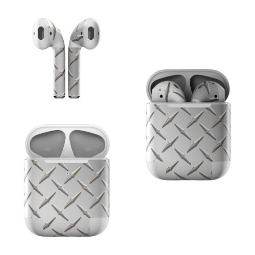 Diamond Plate Apple AirPods Skin