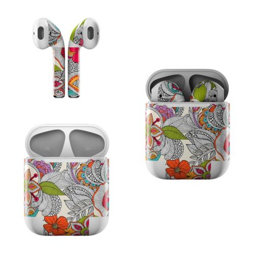 Doodles Color Apple AirPods Skin