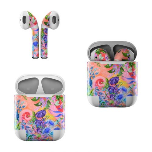 Fantasy Garden Apple AirPods Skin
