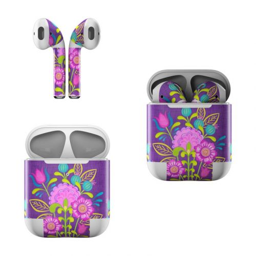 Floral Bouquet Apple AirPods Skin
