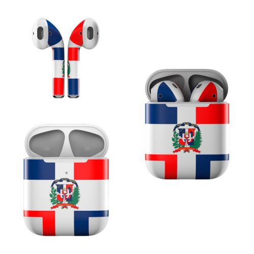 Dominican Republic Flag Apple AirPods Skin