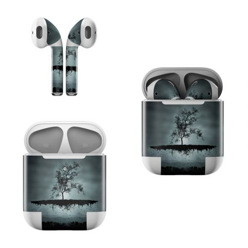 Flying Tree Black Apple AirPods Skin