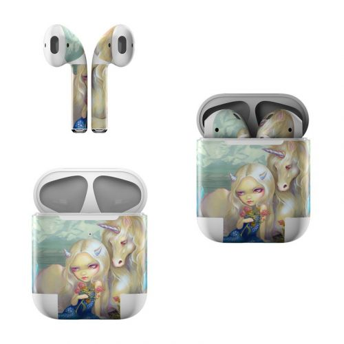 Fiona Unicorn Apple AirPods Skin