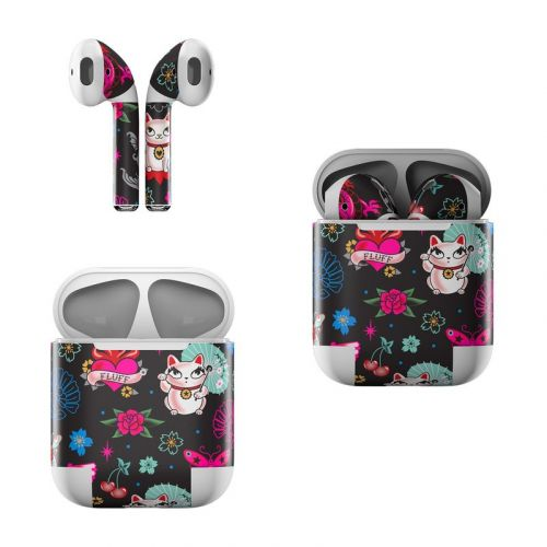 Geisha Kitty Apple AirPods Skin