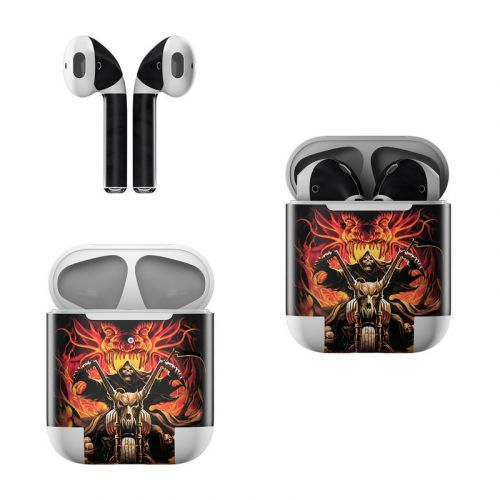 Grim Rider Apple AirPods Skin