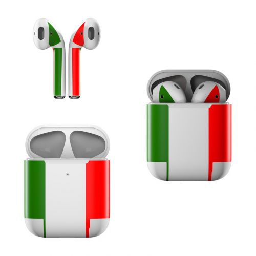 Italian Flag Apple AirPods Skin