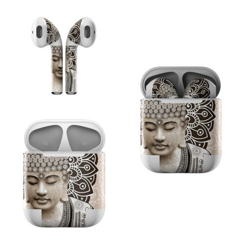 Meditation Mehndi Apple AirPods Skin