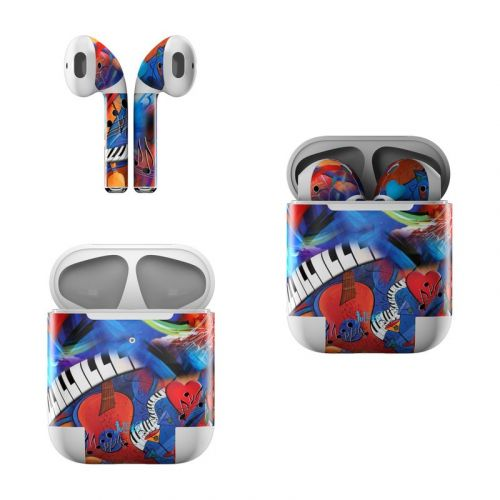 Music Madness Apple AirPods Skin