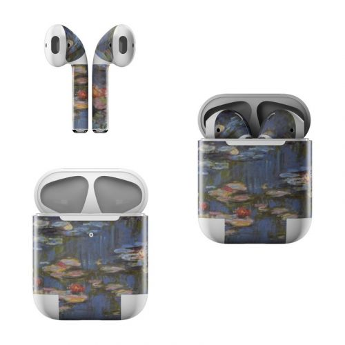 Water lilies Apple AirPods Skin