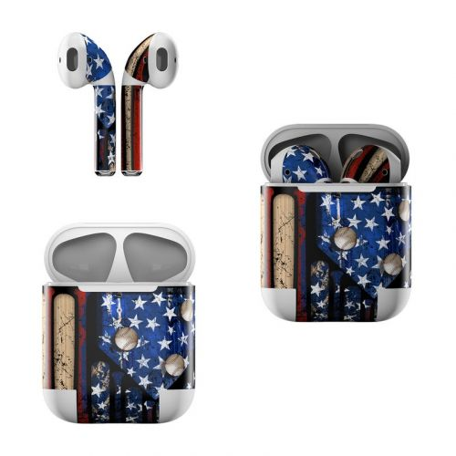Old Glory Apple AirPods Skin
