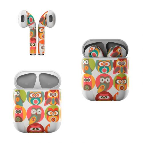 Owls Family Apple AirPods Skin