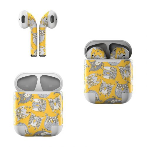 Owls Apple AirPods Skin
