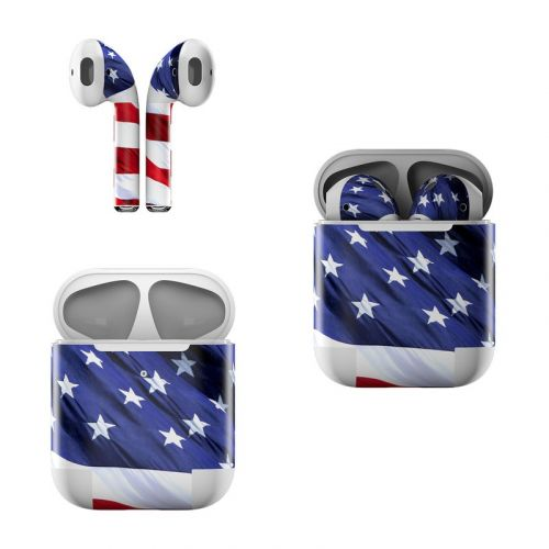 Patriotic Apple AirPods Skin