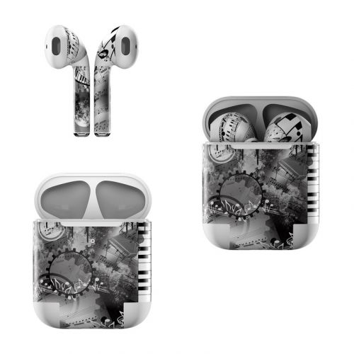 Piano Pizazz Apple AirPods Skin