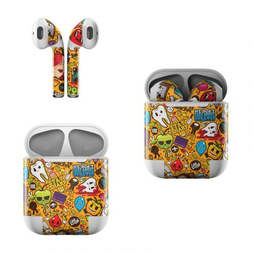 Psychedelic Apple AirPods Skin