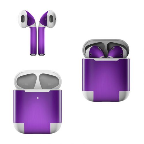 Purple Burst Apple AirPods Skin