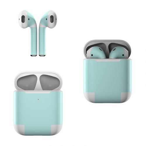 Solid State Mint Apple AirPods Skin