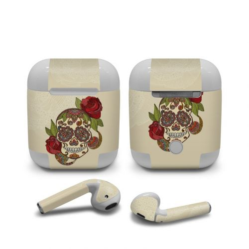 Sugar Skull Apple AirPods Skin