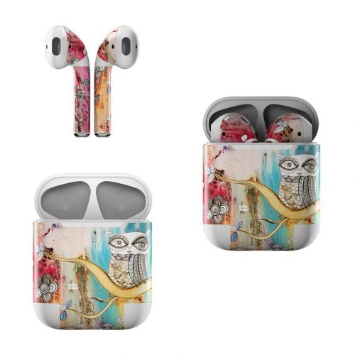 Surreal Owl Apple AirPods Skin