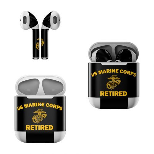USMC Retired Apple AirPods Skin