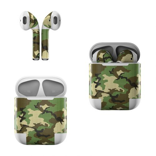 Woodland Camo Apple AirPods Skin