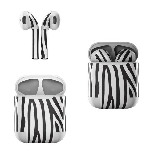 Zebra Stripes Apple AirPods Skin