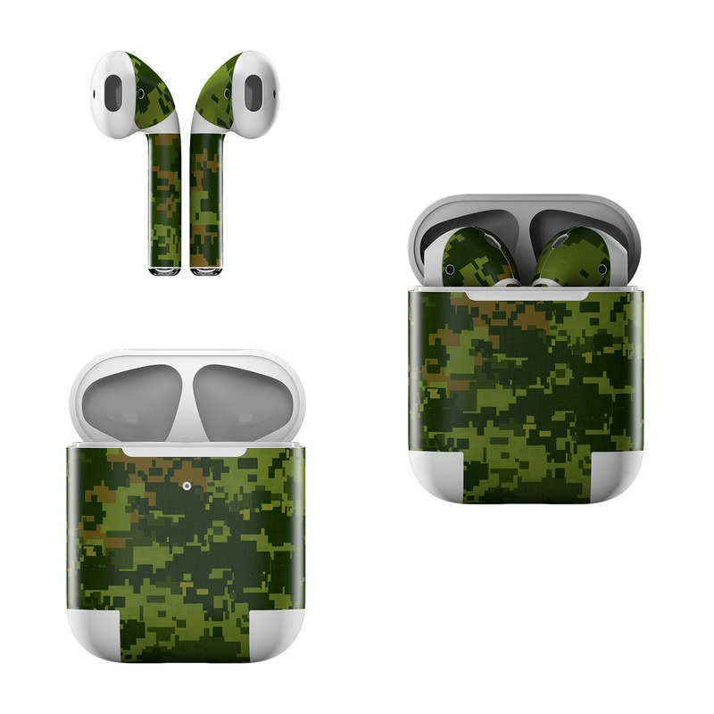 CAD Camo Apple AirPods Skin