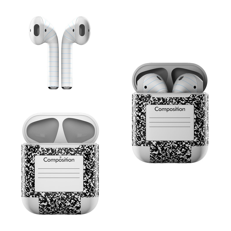 Composition Notebook Apple AirPods Skin