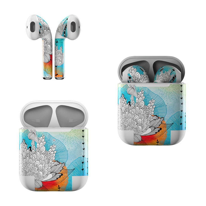 Coral Apple AirPods Skin