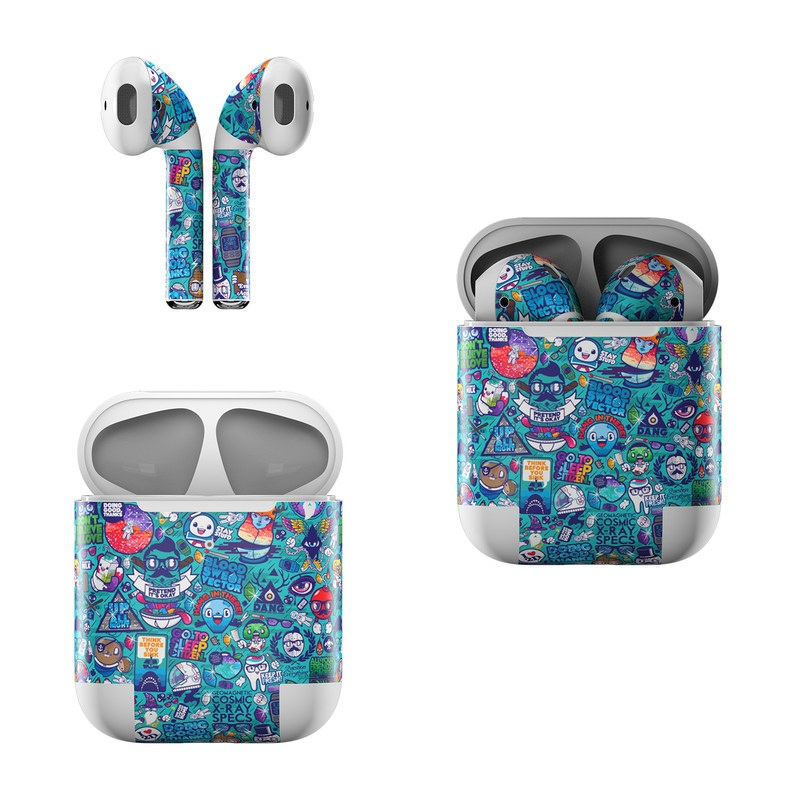 Cosmic Ray Apple AirPods Skin