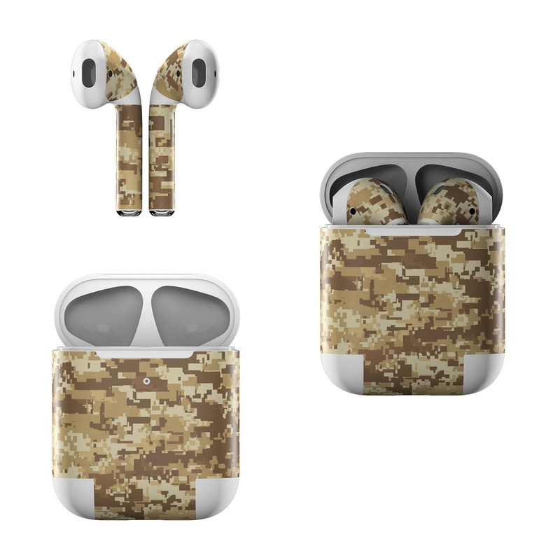 Coyote Camo Apple AirPods Skin