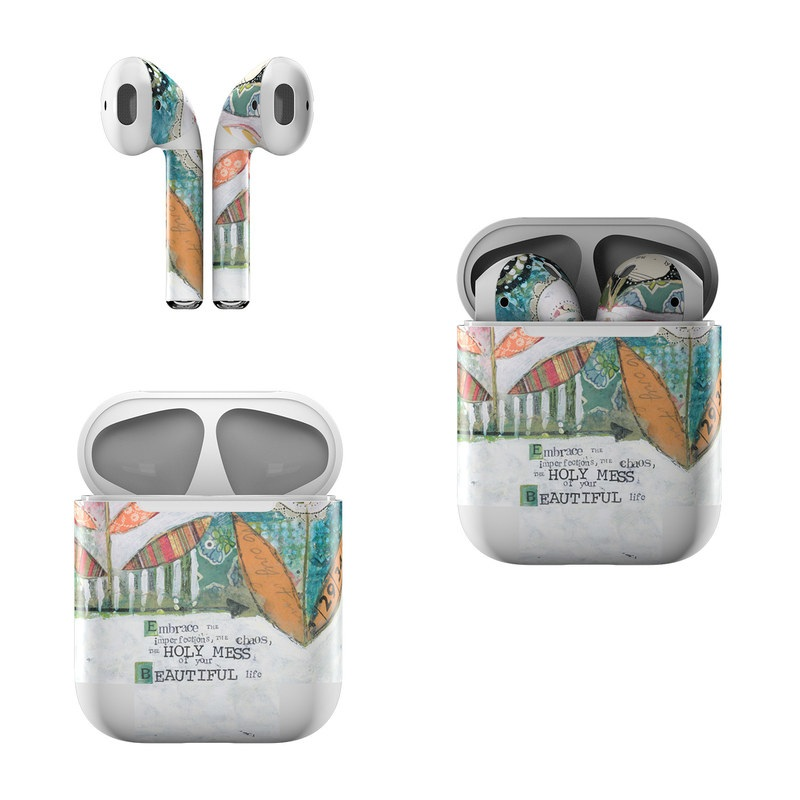 Holy Mess Apple AirPods Skin