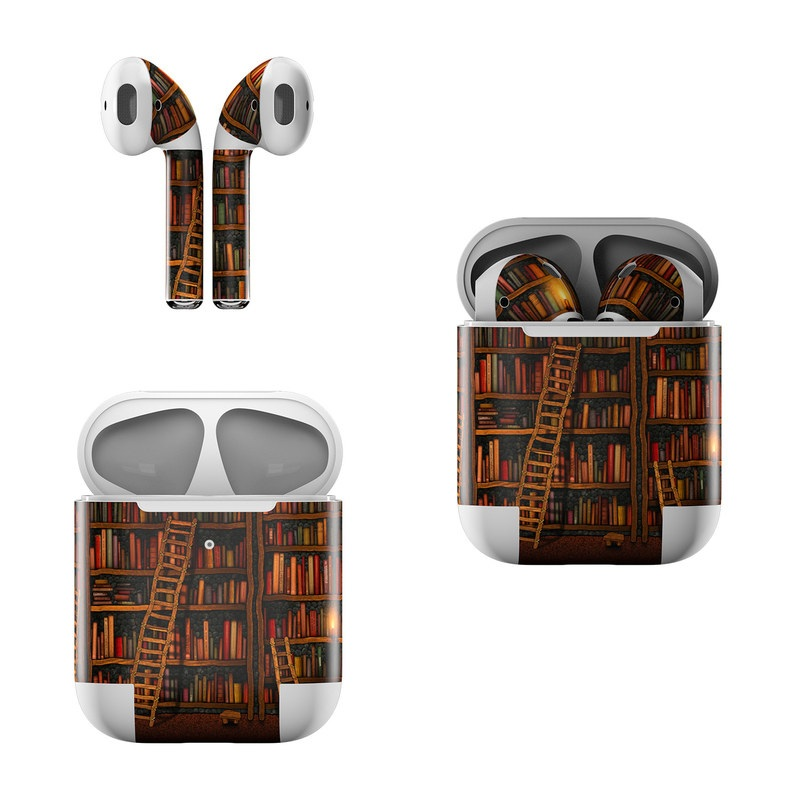 Library Apple AirPods Skin