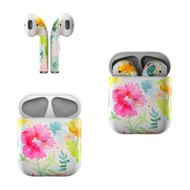 Loose Flowers Apple AirPods Skin