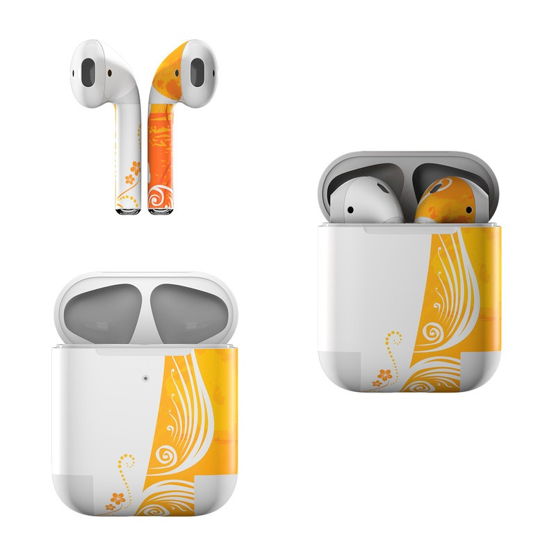Orange Crush Apple AirPods Skin