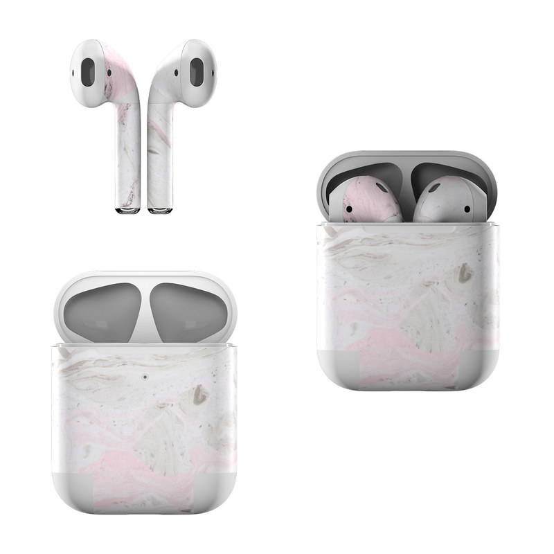 Rosa Marble Apple AirPods Skin