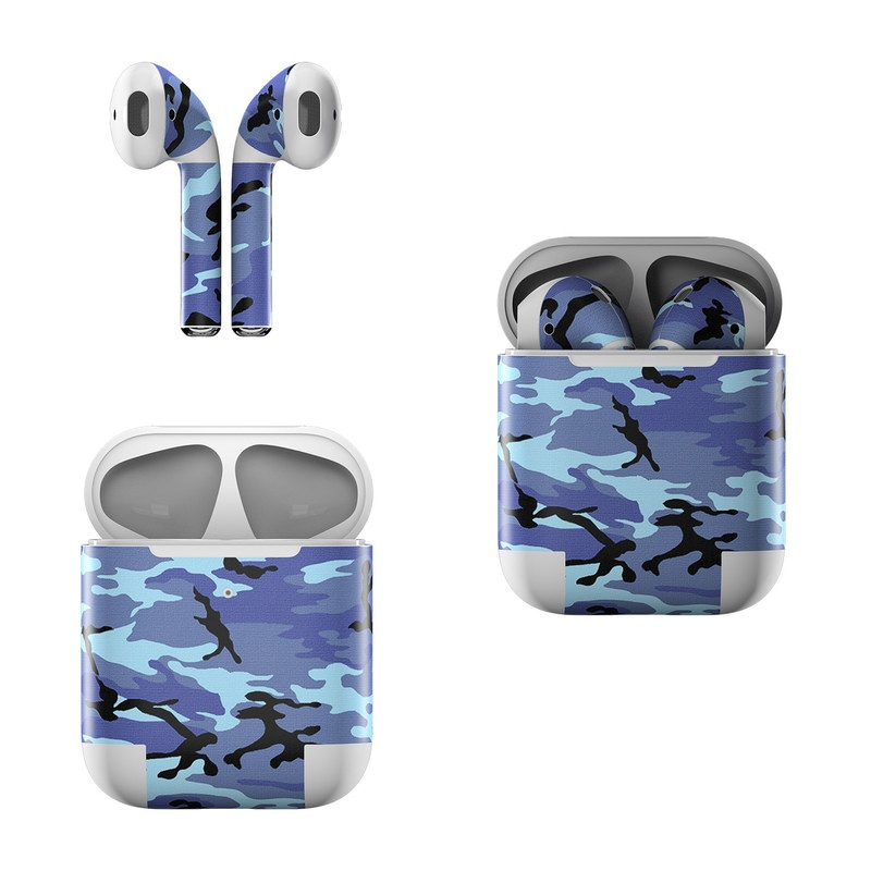 Sky Camo Apple AirPods Skin