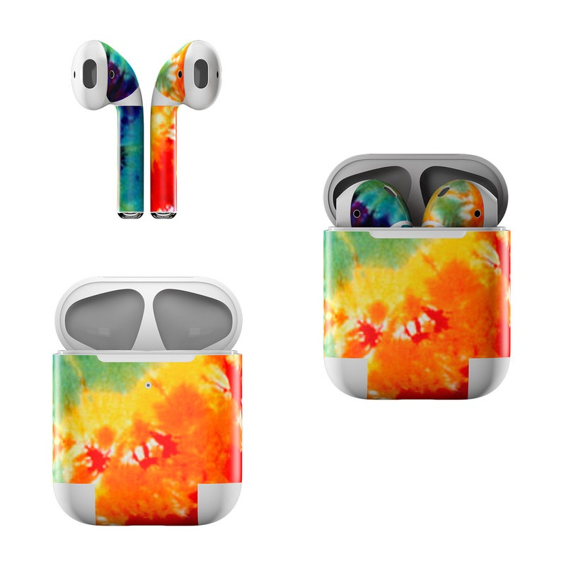 Tie Dyed Apple AirPods Skin