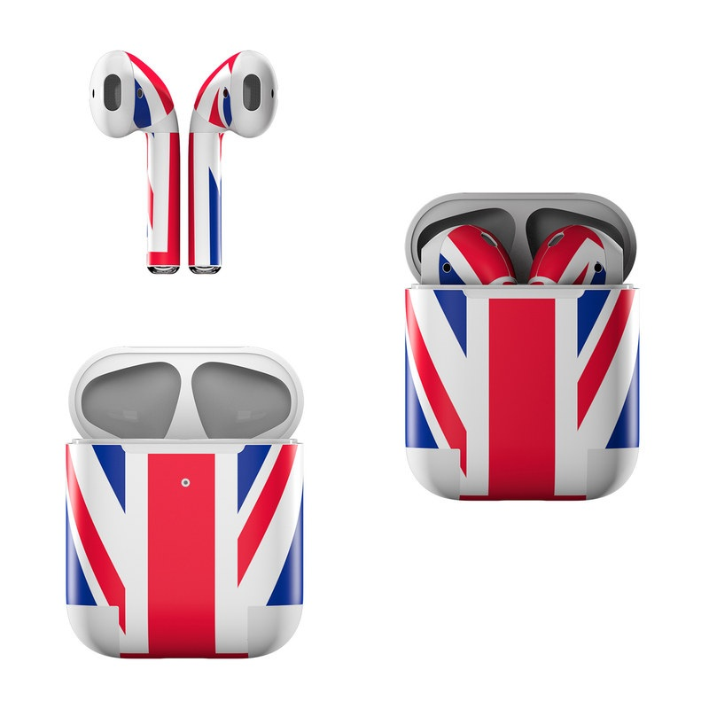 Union Jack Apple AirPods Skin
