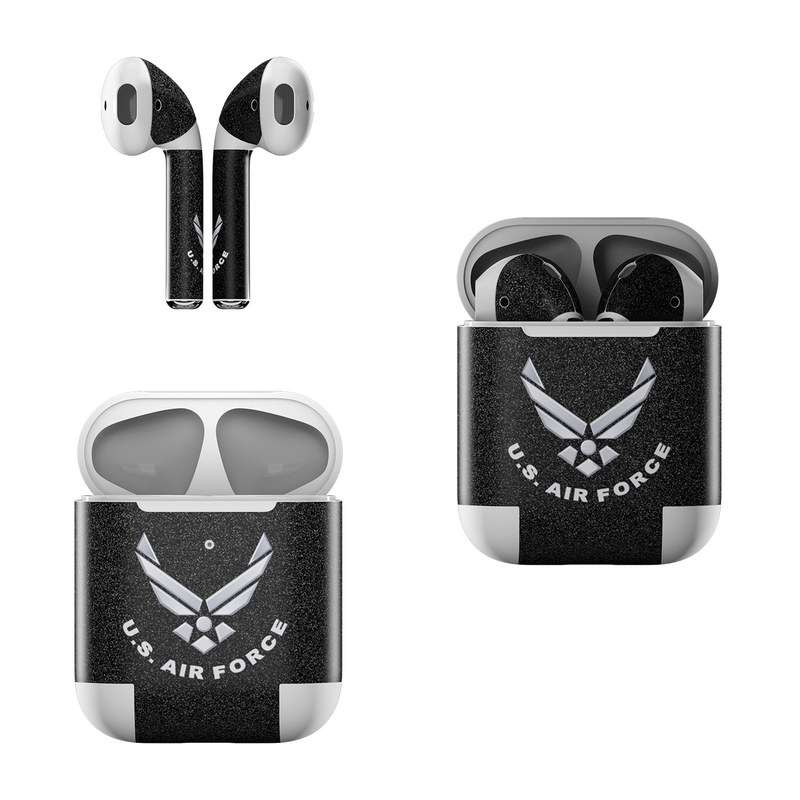 USAF Black Apple AirPods Skin