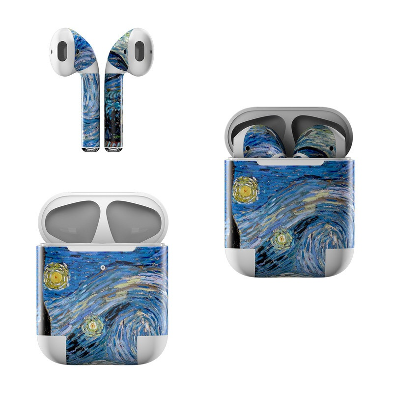Starry Night Apple AirPods Skin