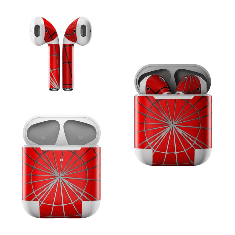 Webslinger Apple AirPods Skin