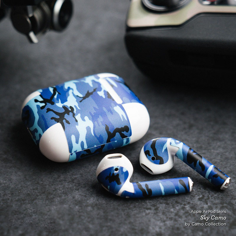 Urban Camo Apple Airpods Skin Istyles